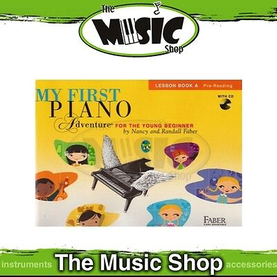New My First Piano Adventure: Lesson Book A Music Tuition Book & CD