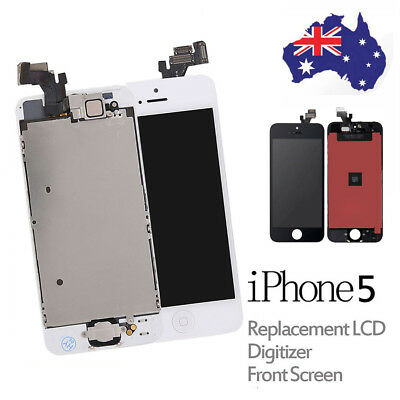 iPhone 5 LCD Replacement & Free Tool Kit Touch Screen Digitizer Display Assembly