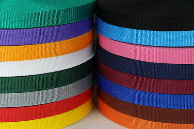 Polypropylene Webbing 50mts 25mm Sewing Horse rugs, bags, tents, canvas