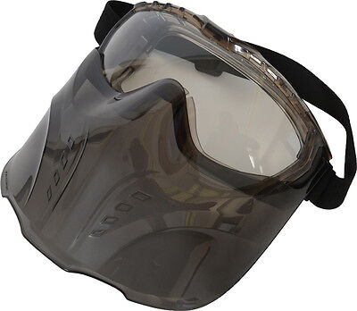 UCI Kara Sealed Safety Goggle With Shield Set - Clear Lens - Eye Protection