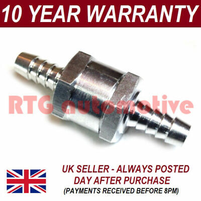 One Way Fuel Non Return Check Valve 6 8 10 12 Mm Petrol Diesel Oil Water Bio