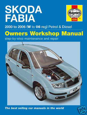 Haynes Manual Skoda Fabia Petrol Diesel 2000-2006 NEW 4376