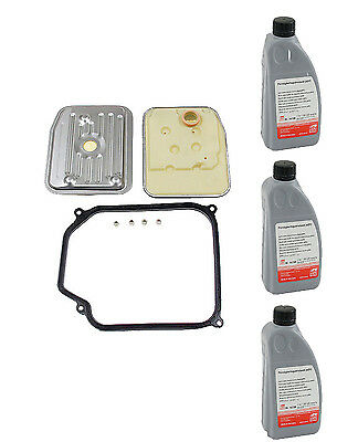 3-Liters Automatic Transmission Fluid & Filter Kit Beetle Cabrio  Golf Jetta