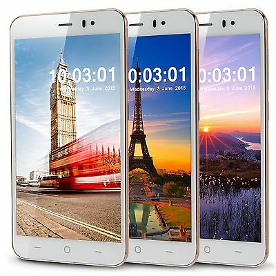 "5"" Dual Sim 3G Dual Core Android 4.2 Mobile Phone Smart Phone Unlocked GPS WiFi"