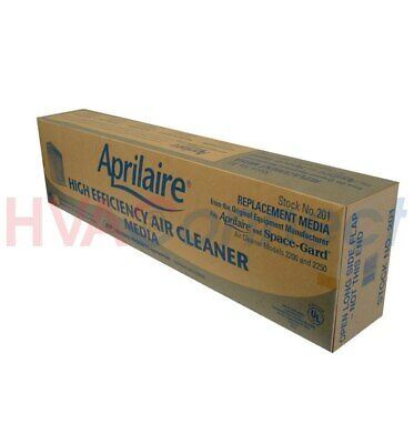4 Pack - Aprilaire / Spaceguard Oem 201 Filter Media For 2200/2250