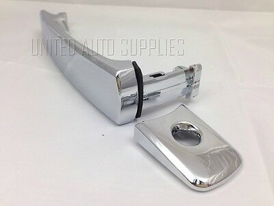 CHROME Front LH Driver Side Outside Door Handle for Various Nissan & Infinity