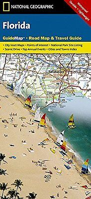 Florida: Guide Map, Road Map & Travel Guide by National Geographic Maps...