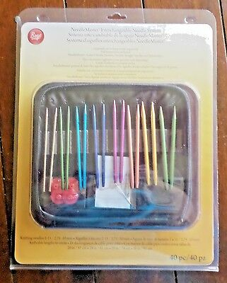 1 Brand New Boye Needlemaster 40pc Interchangeable Needle System!