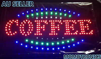 LED NEON COFFEE Sign  for SHOP, HOME,BUSINESS SIZE: 55CM X 33CM