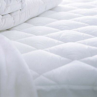 Waterproof Mattress Protector 170 GSM Quilted / Fitted 30cm Deep Superking Bed