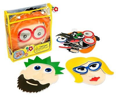 Bath Time Stickers Silly Faces Bath Toys Includes Storage Bag