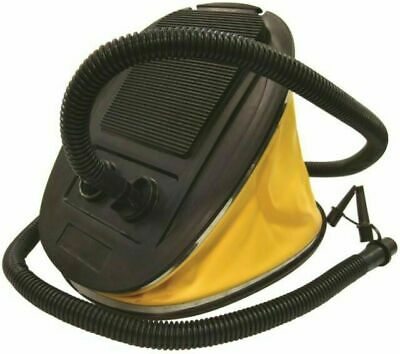 Yellowstone Outdoor Camping Heavy Duty Foot Pump Inflator - 5 Litre / Yellow