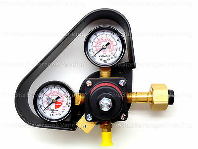 Cornelius High Pressure Dual Gauge Co2 Regulator W/gauge Protector 771000155