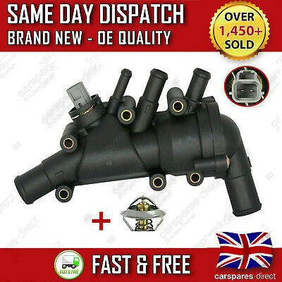 Ford Ka 1.3 1.6 Thermostat Housing Switch Duratec 2003 2008 1 Year Warranty