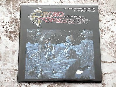 Chrono Trigger Promo Prize Only Orchestra Extra Soundtrack CD Black Jacket Ver