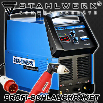 PLASMA CUTTER STAHLWERK CUT 120 S HF INVERTER /ANY METALLIC MATERIALS up to 40mm