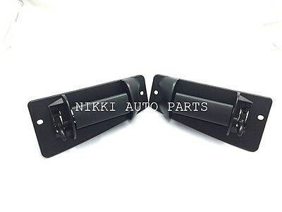Set of 2 REAR Outside Door Handle for Chevrolet Silverado & GMC Sierra