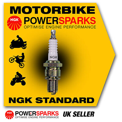 NGK Spark Plug fits KYMCO Super 9 50 (Air Cooled) 50cc 01-> [BR8HSA] 5539 New in