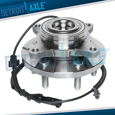 Front Wheel Bearing & Hub Assembly for 2009 2010 Ford F-150 2WD w/ ABS 6 Bolt