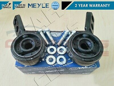 For Bmw 3 Series E30 Front Lower Wishbone Control Arm Rear Bushes Meyle Germany