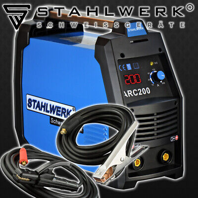 Welder STAHLWERK ARC 200 S - STICK MMA Welding with 200 Ampere