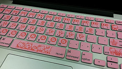 """Hello Kitty Keyboard Protector For Apple Macbook Air/Pro 13"""" 15"""" 17"""""""