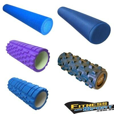 NEW EVA Physio Foam Roller Gym Fitness Running Yoga Exercise Equipment Gear