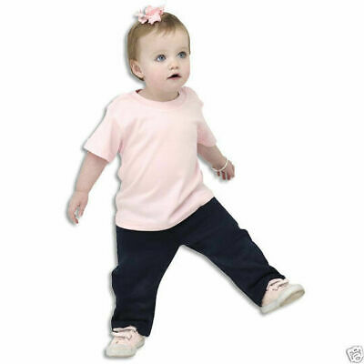 Baby T-Shirt | Plain Infant Children Baby Tee | White Black | Kids Size 00-3