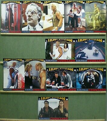 TQ93 SUBURBAN COMMANDO HULK HOGAN CHRISTOPHER LLOYD Lobby Set Spain