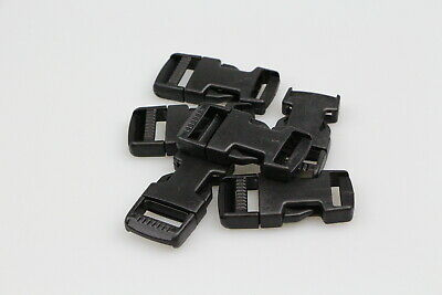 Side release buckle 6 sets of clips 19mm horse rugs dog collars leads x 12 piece