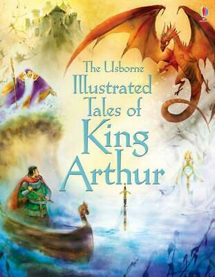 Illustrated Tales of King Arthur by Sarah Courtauld Hardcover Book Free Shipping