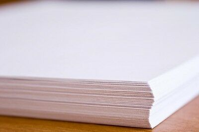 A4 WHITE PRINTER PAPER 80gsm For Office Laser Inkjet Copier Fax Photocopier