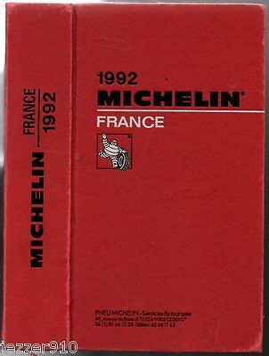 ° Guide Rouge ° Michelin France ° 1992