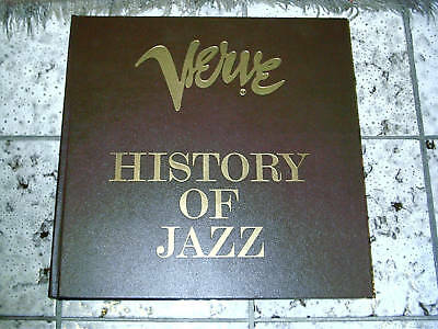 HISTORY OF JAZZ (10-LP-Box Verve 2615 044 Stereo / NM)