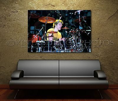 Stewart Copeland Police 20x30 inch Poster Size Photo Live 80's Concert Print 5