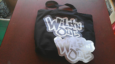 NICK CANNON Wild 'N Out canvas bag and jacket patch