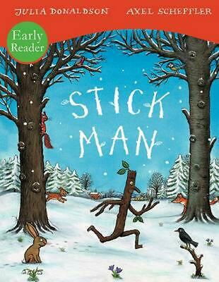 Stick Man by Julia Donaldson (English) Paperback Book Free Shipping!