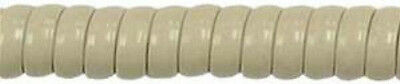 NEW!  25' Foot  Modular Telephone Ivory (Norstar Ash) Curly Handset Cord