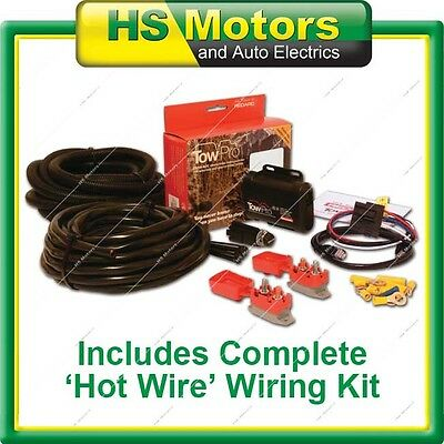 REDARC TOWPRO ELITE Remote Head Electric Brake Controller + Hot Wire Kit Tow Pro