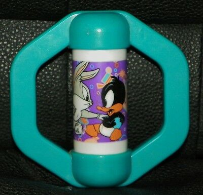 GERBER 1999 Warner Brothers Baby LOONEY TUNES Toons RATTLE Bug Bunny DAFFY DUCK