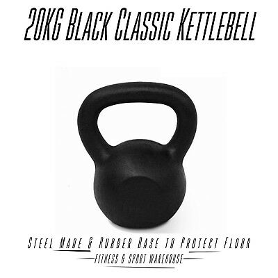 NEW Russian Style Classic Kettlebell 20KG Fitness Strength Training Equipment