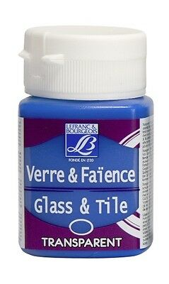 Lefranc & Bourgeois Glass & Tile Paint Singles - 50ml Buy 3 get 1 free