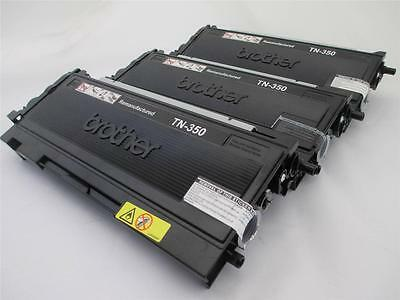 3 BROTHER TONER TN-350 TN350  HL-2040N HL-2040N HL-2070N HL-2070R MFC-7220  350