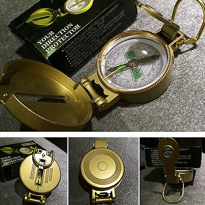 Military Pocket Survival Alloy Compass Travel Hiking Camping OCOMP0101