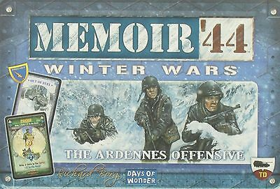 WINTER WARS Expansion MEMOIR' 44 Board Game Brettspiel OVP DoW Days Of Wonder
