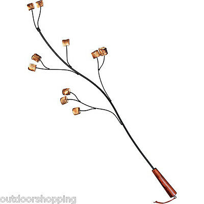 Rome Marshmallow Tree Fork - Steel With Non-Stick Coating, Outdoors, Roasting