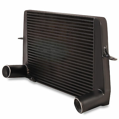 "3"" Black Front Mount Alloy Intercooler Fmic To Ford Sierra Escort Rs500 Cosworth"