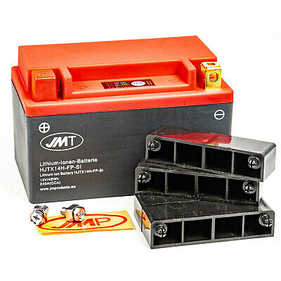 JMT Lithium-Ionen Batterie HJTX14H-FP 12V BMW R 1200 GS R Adventure ABS 5,5""