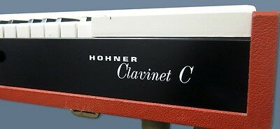 New Hohner Clavinet C Face Panel w/ Logo