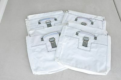 4 White Commercial Sand Bags Support Bounce House Moonwalk Slides Tentandtable